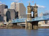 Постер, плакат: Джон а Roebling Подвеска моста