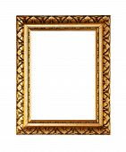 Golden Ornately Picture Frame