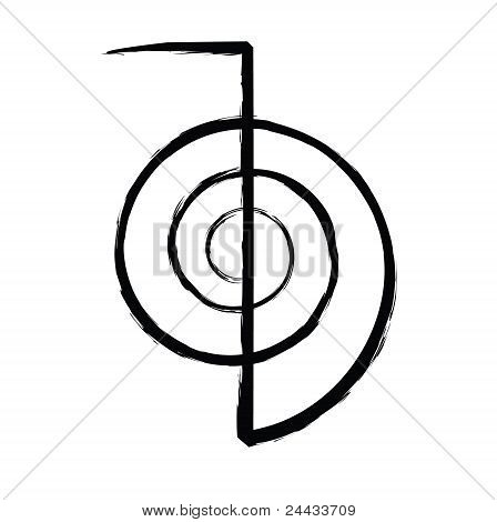Reiki Power Symbol Cho Ku Rei Poster Id24433709
