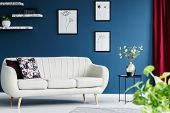 Sofa In A Living Room poster