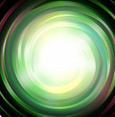 Spiral Green Magic Galaxy Background. Bright Swirl Purple Space On Black Background. Galaxy Storm Ve poster