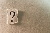 image of question-mark  - An image of a question mark  - JPG