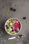 Smoothie Breakfast Bowl poster