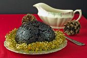 Christmas Pudding Tinsel