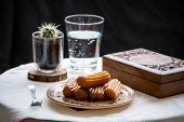 Tulumba Turkish Arabic Bosnian Sweets Dessert Water poster