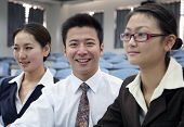 pic of people work  - Asian business people work at the office  - JPG