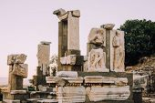 Antique City Of Ephesus.ruins Of An Ancient City In Turkey.selcuk, Kusadasi,turkey.archaeological Si poster
