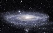 stock photo of stellar  - Detailed picture of the distant spiral galaxy - JPG