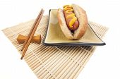 image of hot dog  - East Meets West  - JPG