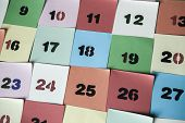 Background Of Numbers. From Zero To Nine. Background With Numbers. Numbers Texture poster