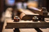 Old Train Industrial Manchester Museum Exhibit Metal Industrial poster