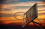foto of slam  - Street basketball - JPG