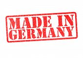 Made In Germany Rubber Stamp