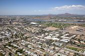 picture of piestewa  - Tempe Arizona skyline including apartments near campus - JPG