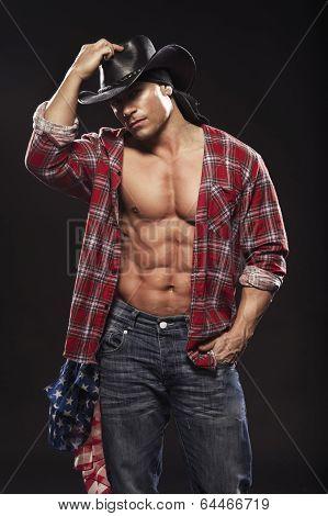 Sexy Men Like Cowboy poster