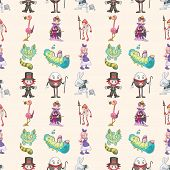 picture of alice wonderland  - Seamless Alice In Wonderland Pattern - JPG