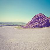 pic of golan-heights  - Asphalt Road in the Golan Heights Photo Filter - JPG