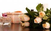picture of perfume  - Beautiful roses - JPG