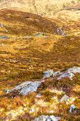 stock photo of galway  - Hillside of Diamond Hill in Connemara National Park in Galway - JPG