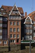 image of fleet  - The old houses at the Nicolai Fleet  - JPG
