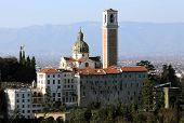 image of vicenza  - Vicenza Italy Monte Berico basilica dedicated to our Lady and the convent of the friars - JPG