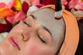 stock photo of facials  - Beauty treatments in the beauty salon - JPG