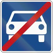 stock photo of traffic rules  - German traffic sign - JPG