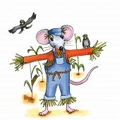 foto of field mouse  - From the series mouse  - JPG