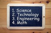 pic of math  - The words Science - JPG