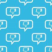 foto of dislike  - Image of dislike symbol in chat bubble - JPG