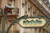 foto of art nouveau  - Art Nouveau influenced signs for the Paris M - JPG