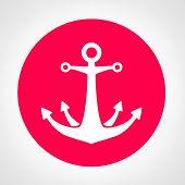 stock photo of anchor  - Anchor logo - JPG