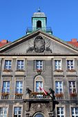 picture of city hall  - Bytom Silesia region in Poland - JPG