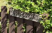 foto of wooden fence  - Syrengrand  - JPG