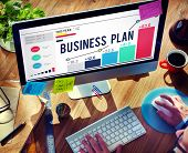 pic of objectives  - Business Plan Planning Strategy Success Objective Concept - JPG