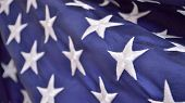 foto of democracy  - Patriotic holiday background of the american flag closeup - JPG