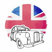 foto of cabs  - Illustration of london cab - JPG