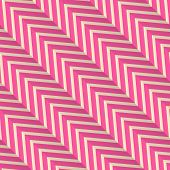 ������, ������: Retro Fold Magenta Diagonal Striped Zigzag