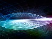 pic of sine wave  - Light Waves series - JPG