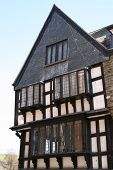 picture of dartmouth  - English Genuine Tudor Period Building in Dartmouth Devon - JPG