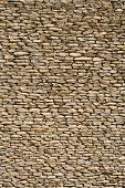 stock photo of fieldstone-wall  - wall made of stones - JPG