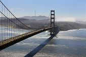 stock photo of golden gate bridge  - Golden Gate Bridge San Francisco California  - JPG