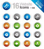 Glossy Buttons - Website und Internet Icons