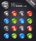 Glossy Pebbles - Drink Icons