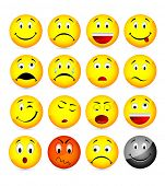 foto of smiley face  - smileys - JPG