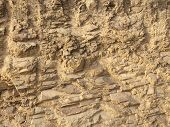 Rock As A Background, Rock Rocks As A Background, Stone Texture, Faults In Rock, Hard Material poster