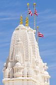 picture of bap  - Tower at Hindu temple - JPG
