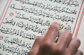 koran - holy book of Muslims