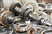 stock photo of bearings  - Close - JPG