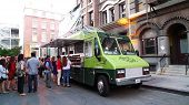 LOS ANGELES - JULY 25: Green Truck on the go at Billabong's 6th Annual Design For Humanity Event at